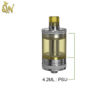 Aspire Nautilus 4.2ml PSU Tube extends the GT tank