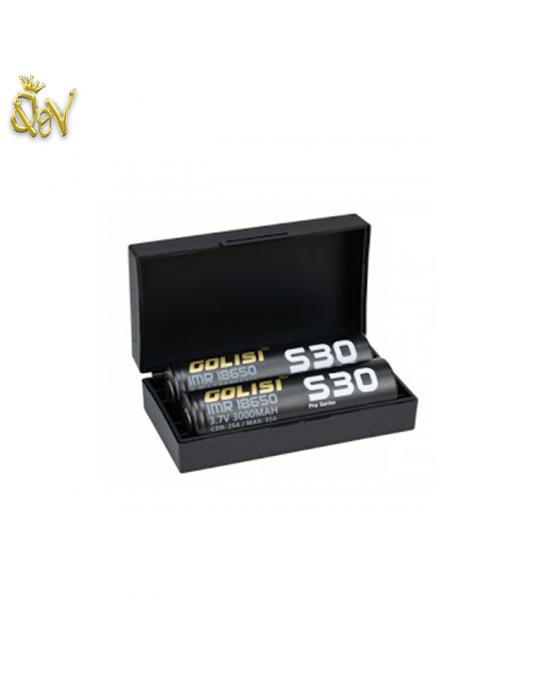 Golisi S30 18650 35A 3000mAh (pair)