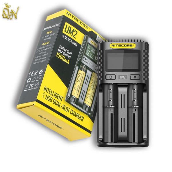 Nitecore UM2 USB Intelligent Dual-Slot Charger Quick Charger