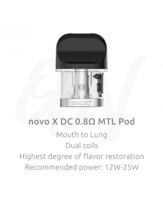 Smok Novo X  DC MTL 0.8