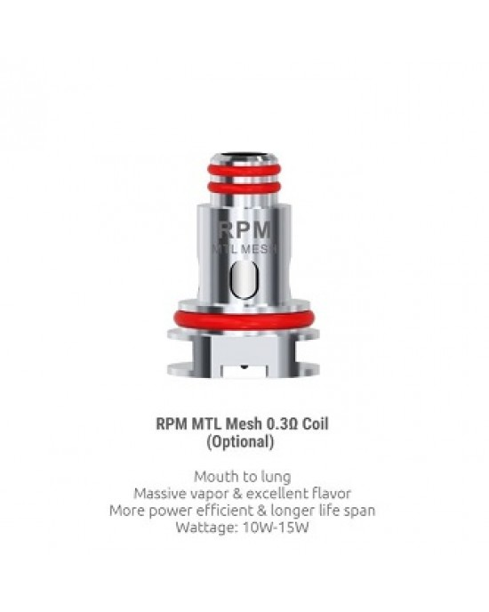 Smok RPM Mesh 0.3 Replacement Coil Heads