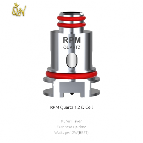 Smok RPM 1.2 Quartz Replacement Coil Heads