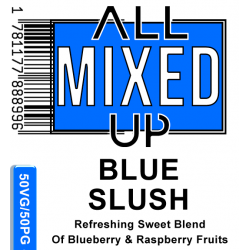 AMU BLUE SLUSH 50/50