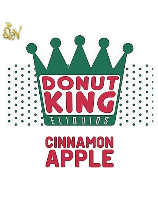 Donut King Nic Salts Cinnamon Apple