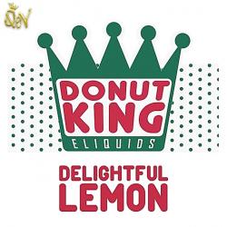 Donut King Delightful Lemon Nic Salt