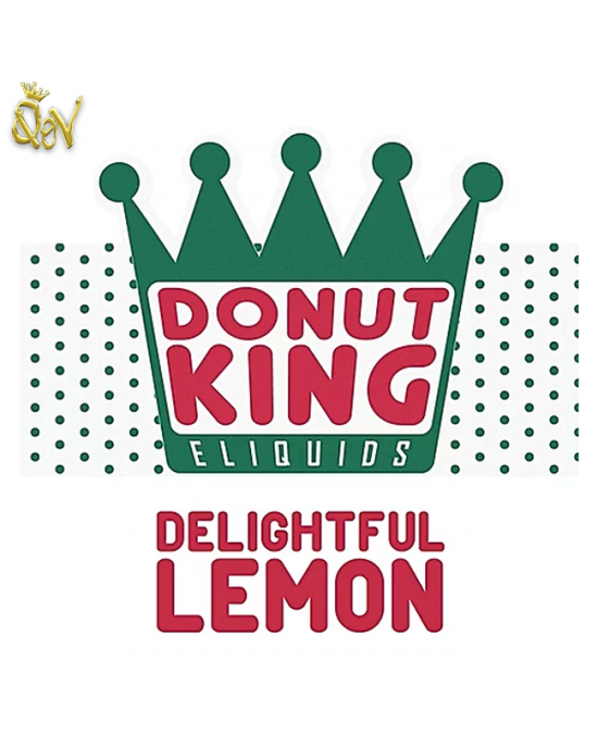 Donut King Nic Salts Delightful Lemon