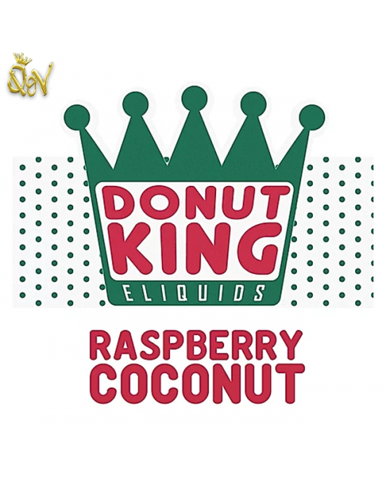 Donut King Nic Salts Raspberry Coconut