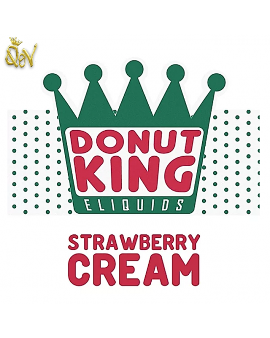 Donut King Nic Salts Strawberry Cream