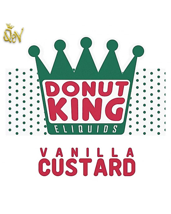 Donut King Nic Salt Vanilla Custard