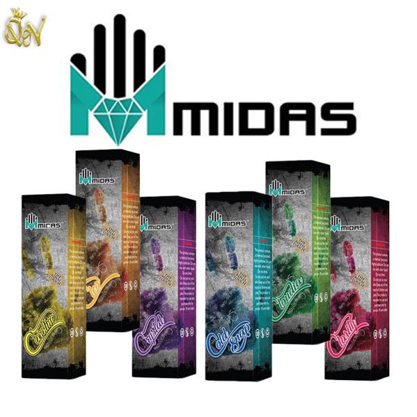 Midas eliquid Flavours