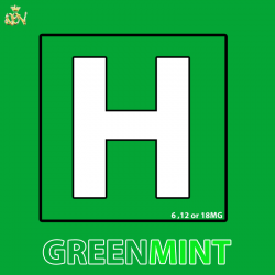 H Green Mint  12mg